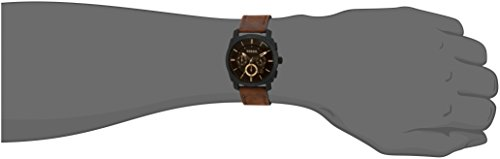Fossil Men's FS4656 Analog Watch with Brown Band