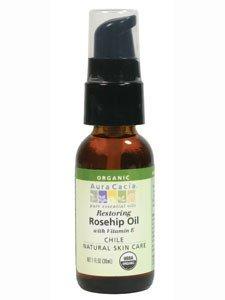 Aura Cacia Skin Oil Rosehip Org