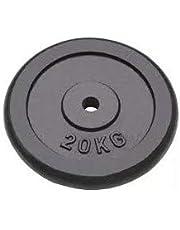 HobbyeSport GETFIT halterschijf van gietijzer 20 kg boring 25 mm krachttraining halterschijven