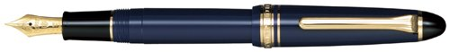 Sailor 1911 Standard Blue GT 14K Gold Extra Fine Point Fountain Pen - 11-1201-140 by Sailor