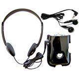 Sonic SuperEar Plus SE7500 Personal Sound Amplifier with Case, Headphones and Discreet Earbuds