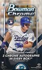 2015 Bowman Chrome Baseball Cards Hobby Box (18 packs/box, 4 cards/pack, 2 autograph cards/box, Look for 1/1 Superfractors, Die Cuts, Kris Bryant Rookie Cards & More) Release Date - Chrome Cards Bowman Baseball Hobby