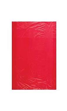 여분의 작은 고밀도 빨간색 플라스틱 상품 가방-6¼W X9¼H-1000 의 경우