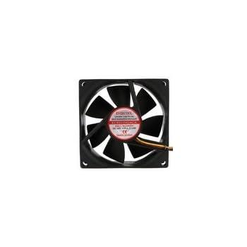 Evercool DC 24V Fan 80 x 80 x 25mm (3.15 x 3.15 x 0.98 inch) Ball Bearing Fan