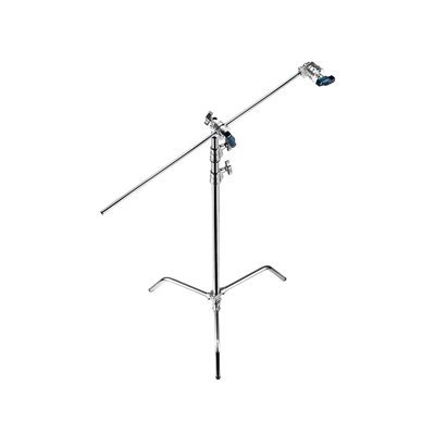 Avenger A2033FKIT Steel 40-Inch C-Stand with Grip Kit (Chrome)