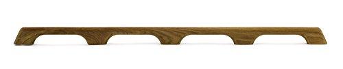 (Whitecap 60104 Teak Handrail - 3-Loop)