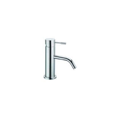 Spillo Single Hole - Spillo Single Hole Bathroom Sink Faucet with Single Handle Finish: Chrome