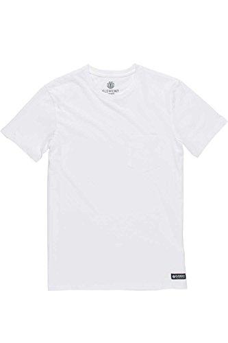 Basic Crew Pocket T-Shirt Größe: XL Farbe: Weiß