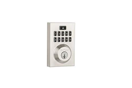 Kwikset Smartcode 913 Contemporary Electronic Deadbolt Featuring Smartkey In Satin Nickel -