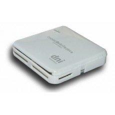 C3PO LMT52 - Lector multitarjeta externo USB