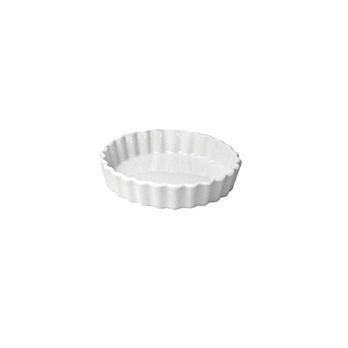 Hall China 863-WH White 5 Oz. Round Fluted Creme Brulee Dish - 24 / - Hall China Ramekins