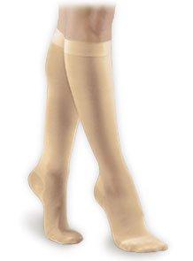 (Activa Soft Fit Graduated Therapy Unisex Closed Toe Knee Highs 20-30 mmHg Medium Beige )