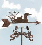 Loon Garden Stake Weathervane