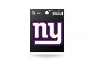Rico Industries NFL New York Giants Die Cut Team Logo Short Sport Sticker