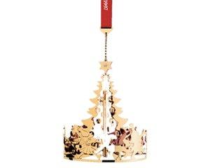georg jensen golden christmas ornament 1997. Black Bedroom Furniture Sets. Home Design Ideas