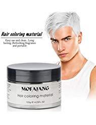 MOFAJANG Natural Hair Wax Color Styling Cream Mud,