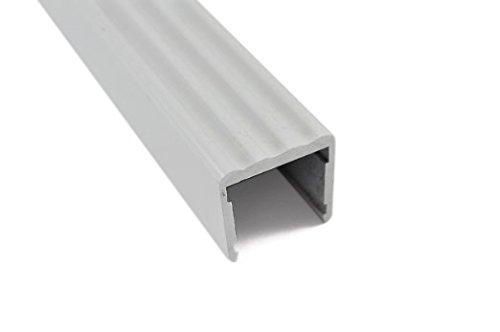 Orange Aluminum – Shelf Stiffener 3/4″ fit (White Powder Coat)