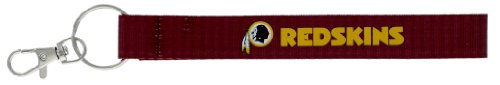 aminco NFL Washington Redskins Wristlet Key Ring