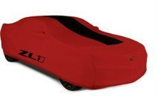 GM Accessories 22863451 Premium All-Weather Car Cover in Red with ZL1 Logo