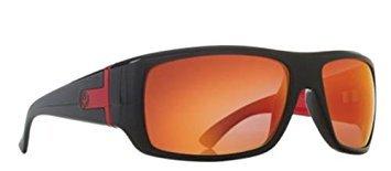 Dragon Alliance Vantage Sunglasses, Distinct Name: Jet Red / Red Ion Performance Plar Lens, Gender: Mens/Unisex, Size: Md, Primary Color: Black 720-2223 by Dragon Alliance