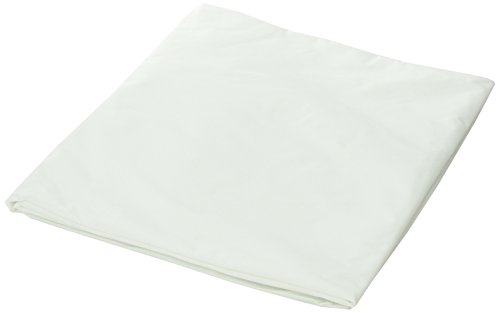 DMI Hypoallergenic Contoured Plastic Mattress Cover Protector, Waterproof, Hospital Bed Size, White by Duro-Med