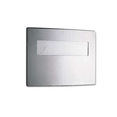 Bobrick 4221 Toilet Seat Cover Dispenser, 15 3/4 x 2 1/4 x 11 1/4, Satin Stainless Steel by Bobrick