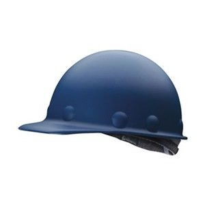 Fibre-Metal Roughneck Blue Fiberglass Cap Style Hard Hat - 8-Point Suspension - Tab Lok Adjustment - Strip-Proof - P2AW71A000 [PRICE is per - Suspension Tab