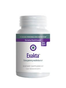 Exakta 120 Vegetarian Capsules by D'Adamo Personalized Nutrition