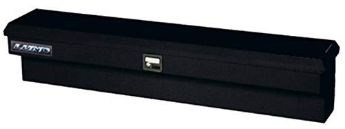 Lund 76772 70-Inch 16-Gauge Steel Single Lid Side Bin Truck Tool Box, Black