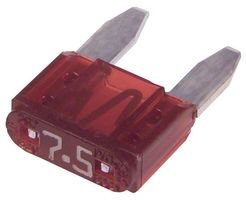 LITTELFUSE 029707.5WXNV FUSE, BLADE, 7.5A, 32V, FAST ACTING (1000 pieces)