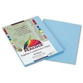 Pacon P7609 Peacock Sulphite Construction Paper  Rigid  9 x