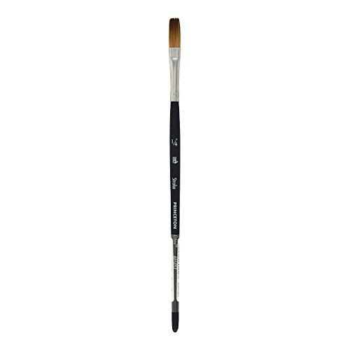Princeton Elite NextGen Artist Brushes, Serie 4850 Kolinsky Sables para acuarela, Stroke 1/4 Inch, 1/4 in, 1