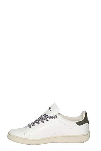 Leggenda EU Pelle Sneakers Bianco Autograph 45 Uomo Lotto d0qw74d