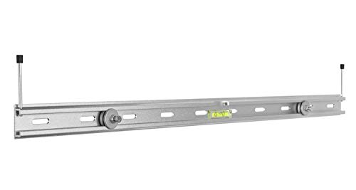 Mount Plus MP-SB-42 Aluminum Universal Sound Bar Bracket Mount for Mounting Sound Bar Above or Under TV Fits Most of Sound Bars up to 33 ()