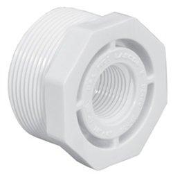 (Lasco 439-099 0.75 x 0.37 in. PVC Threaded Reducer Bushing, MPT x FPT)