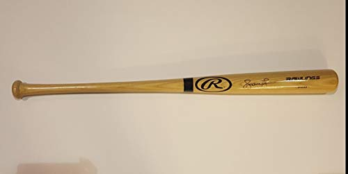 Andruw Jones Autographed Signed Baseball Bat Atlanta Braves JSA