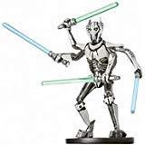 Star Wars Miniatures: General Grievous, Jedi Hunter # 31 - Revenge of the Sith