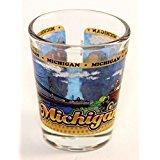 Michigan State Wraparound Shot Glass