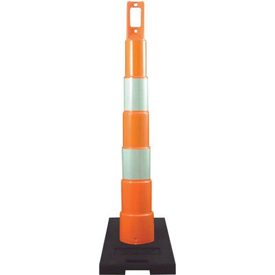 Plasticade 48in. Navicade Traffic Channelizing Cone - 6in. High Intensity Prismatic Sheeting, Model# ()