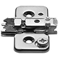 Blum 173H7100 Screw On CLIP Frameless Mounting Plate 0mm Height by Blum