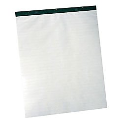 TOPS Standard Easel Pads, 3-Hole Punched, 27 x 34 Inch, White, 50 Sheets/Pad