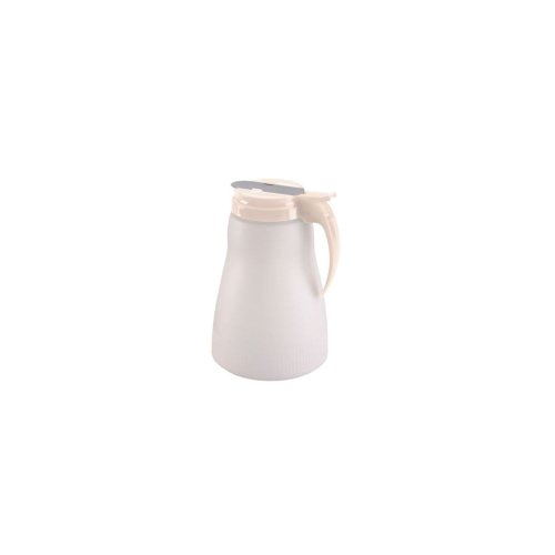 (Traex 4864-18 Polyethylene 64 Ounce Syrup Server with Almond Top )
