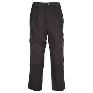 5.11 Pantalones tácticos de lona de algodón para hombres tácticos - Negro Talla: 34-32