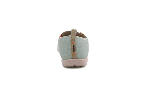 Marron Uin Bateaux De Chaussures Etreinte Toiles D' Pour Femme Ours w1TH1gWfxq