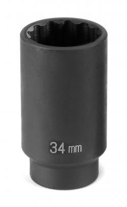 1/2 Drive X 28Mm Deep - 12 Point 1/2' Drive 12 Point Socket