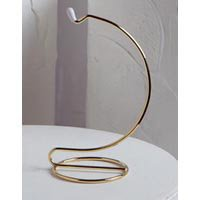 DARICE 5 Inch Tall Gold Wire Ornament Hanger Stands for S...