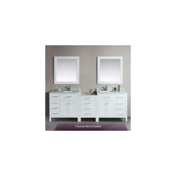 Design Element Dec076d 92 London 92 Inch Double Sink