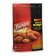 Banquet Hot and Spicy Wings, 22 Ounce -- 8 per case.