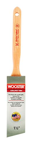 Sable Angle - Wooster Paint Brush Purple Nylon/Sable Polyester Angle 1-1/2