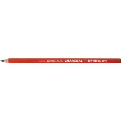 Charcoal Pencil (Set of 12) Size: 0.25'' H x 2'' W x 7.25'' D